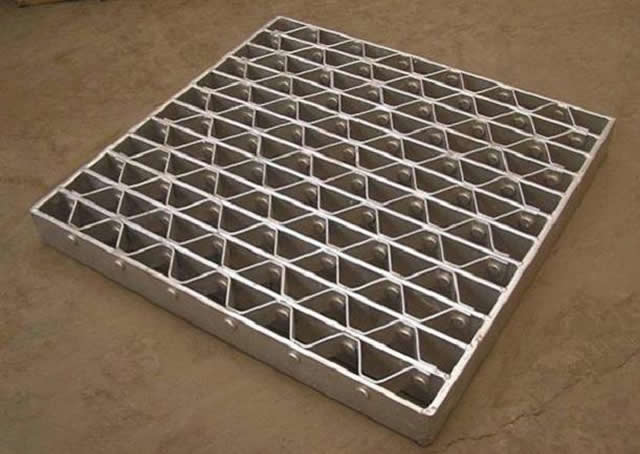pressure lock steel bar grating